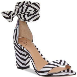 NWOT I.N.C black and white heels - Size 7